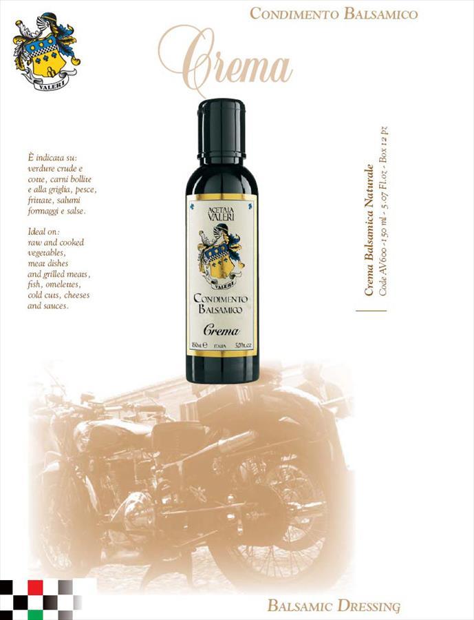 Crema Naturale allaceto balsamico di Modena