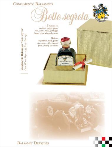 """Condimento Balsamico """"Botte Segreta"""" idea regalo"""