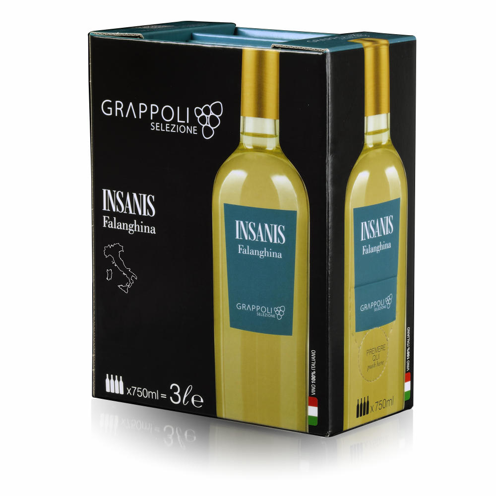 INSANIS - Bag in Box - Falanghina
