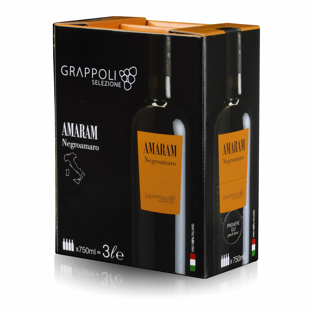 AMARAM - Bag in Box - Negroamaro