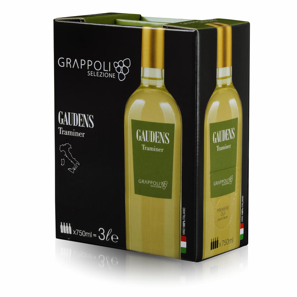 GUADENS - Vino in Bag in Box - Traminer