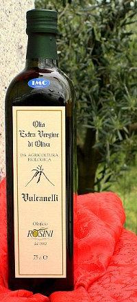 Vulcanelli olio extravergine di oliva biologico