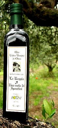 Olio Extravergine di Oliva Monovarietale Raggia
