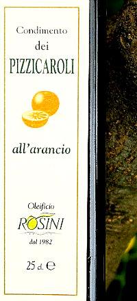 Olio extravergine di oliva aromatizzato allarancio