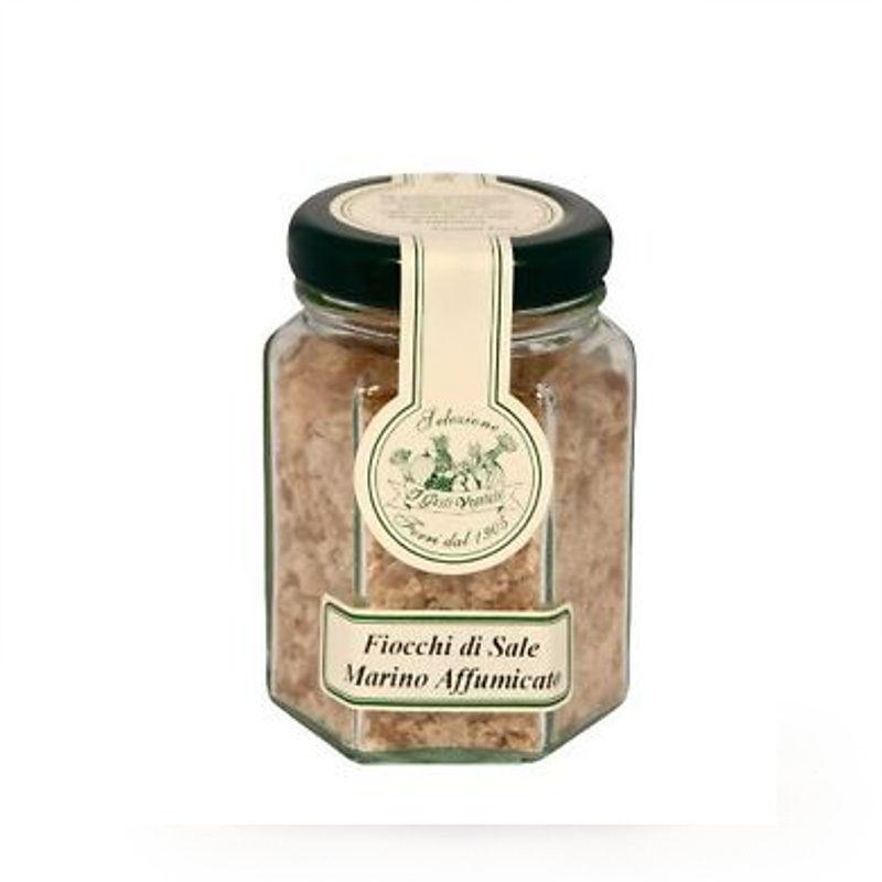 Fiocchi di sale marino affumicato
