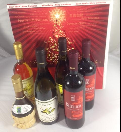 Idea regalo Natale 2016 vini tipici Marche