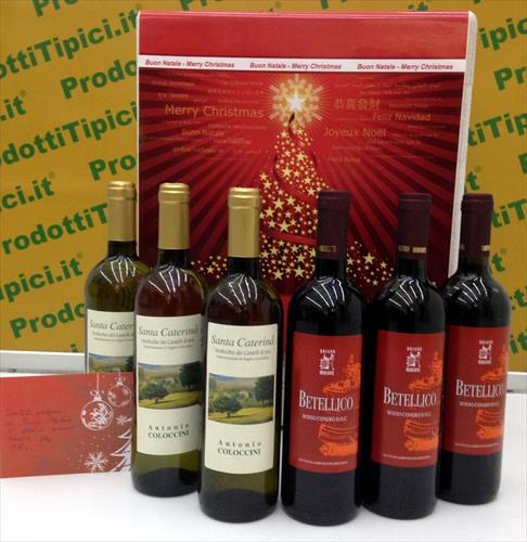 Confezione regalo Vini Biologici della regione Marche