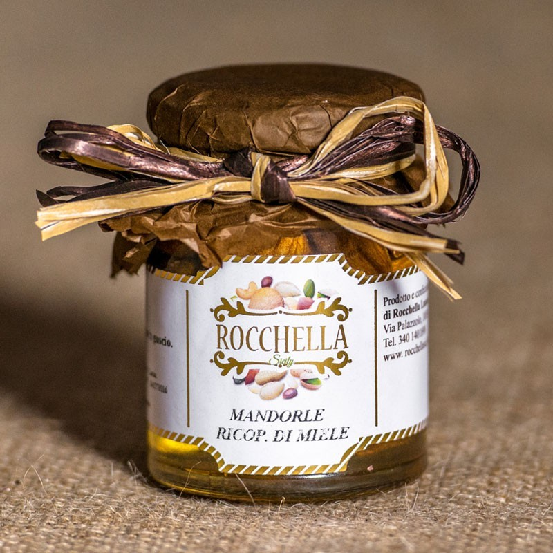 Mandorle di Sicilia ricoperte di miele