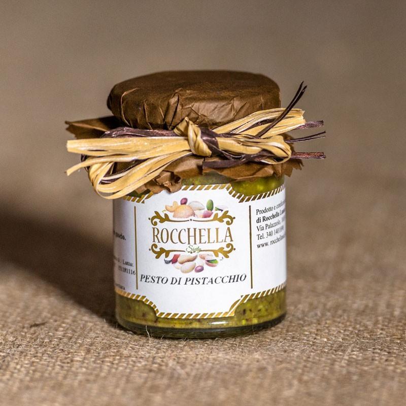Pesto pistacchi e mandorle siciliane gr 190