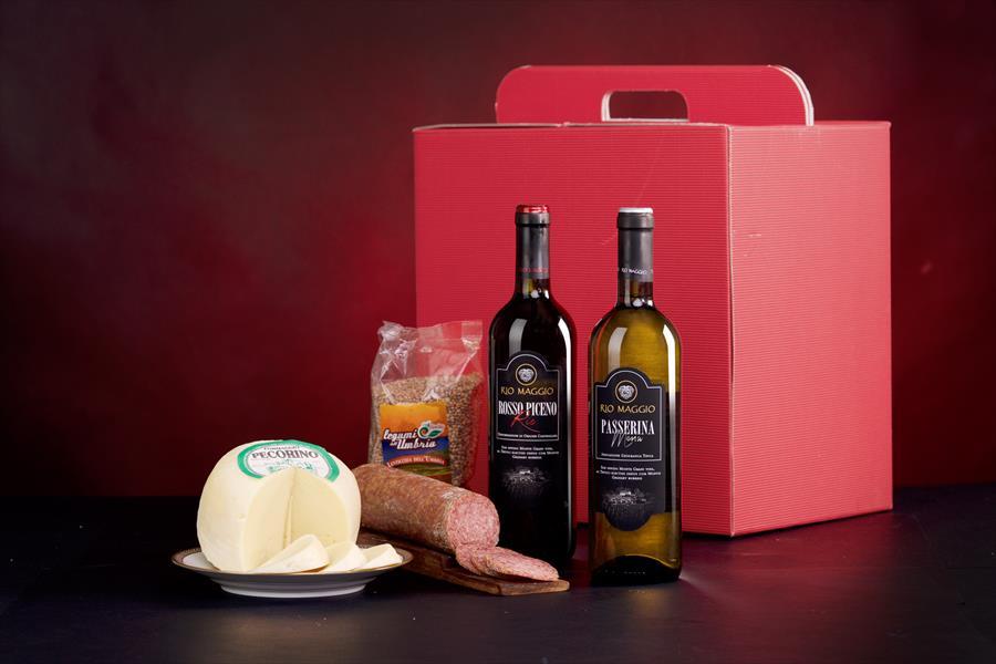 Confezione regalo prodotti tipici Tolomei