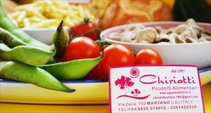 F.lli Chiriatti, prodotti alimentari