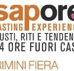 Sapore tasting experience 2012