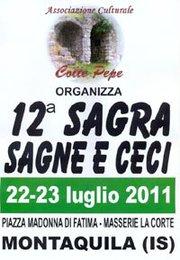Sagra Sagne e Ceci 2011