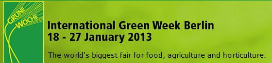 Internationale Grüne Woche Berlin 2013