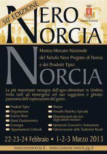 Mostra Mercato del tartufo Nero Pregiato di Norcia 2013