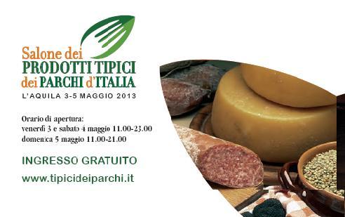 Salone dei prodotti tipici dei Parchi d'Italia 2013