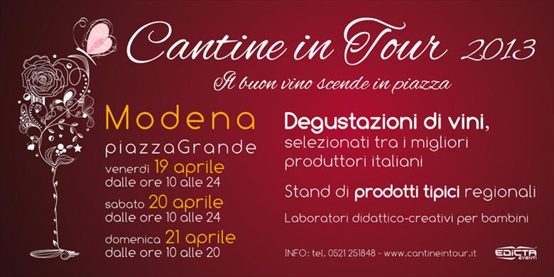 Modena Cantine in Tour 2013