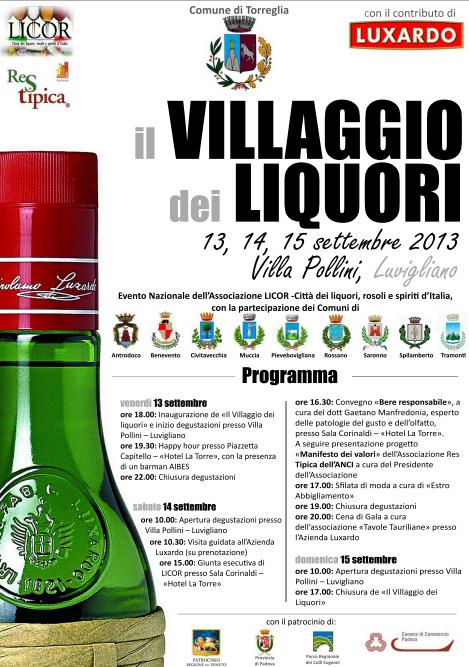 Il Villaggio dei Liquori 2013