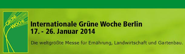 Internationale Grüne Woche Berlin 2014