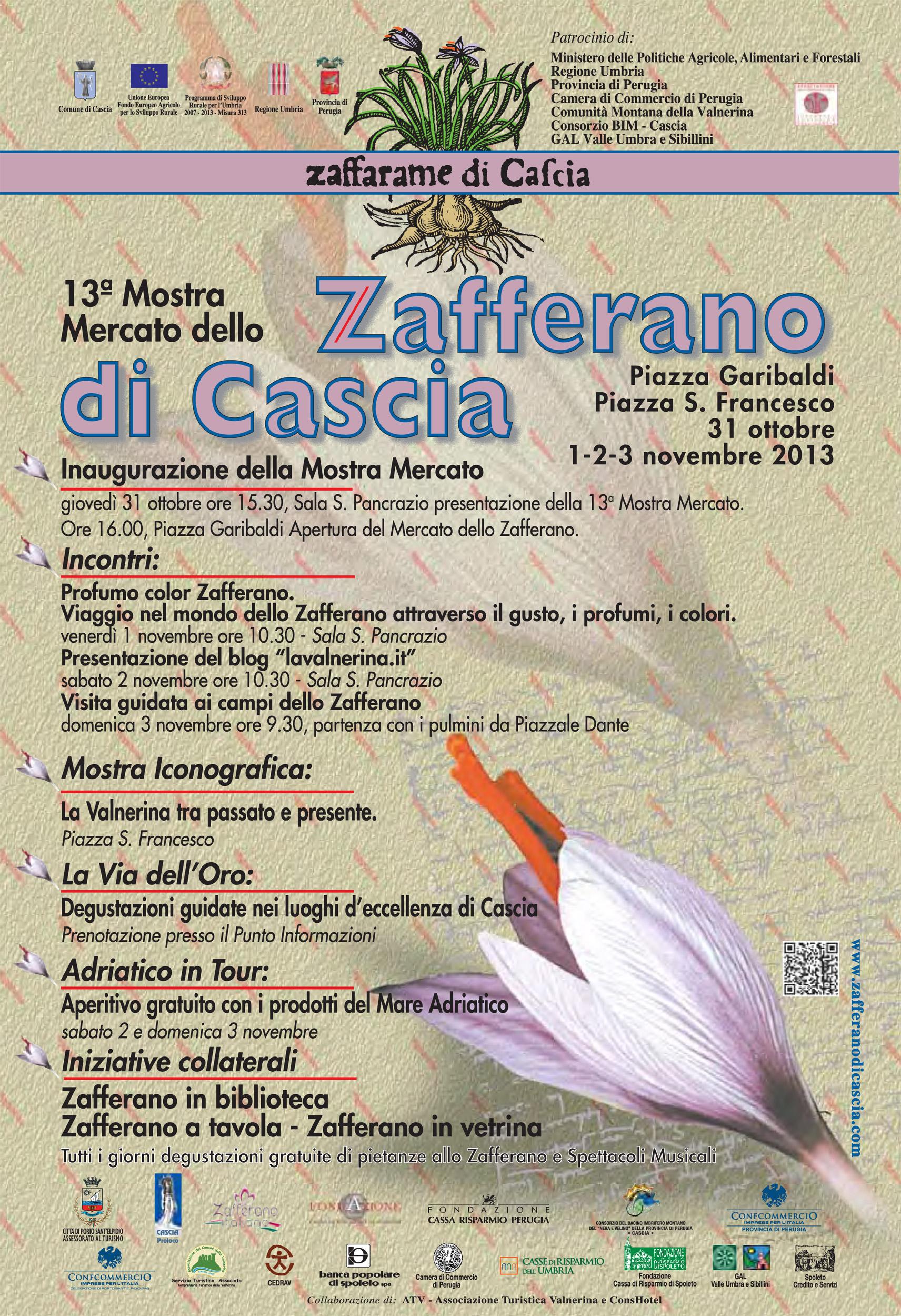 Mostra mercato dello Zafferano Purissimo di Cascia 2013
