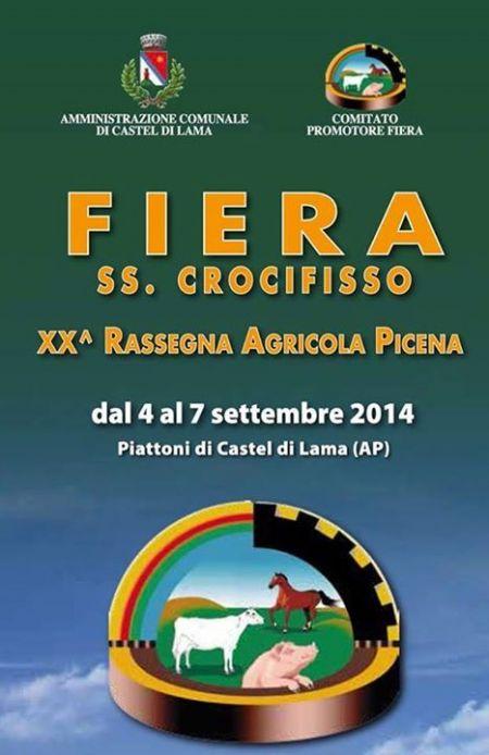 Fiera SS.Crocifisso Rassegna Agricola Picena 2014