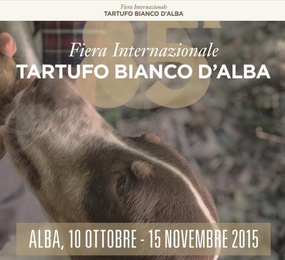 Fiera Internazionale tartufo bianco d'Alba 2015