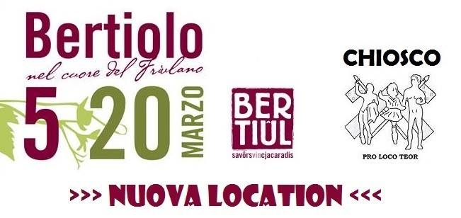 Festa del vino 2016 a Bertiolo