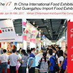 China International food exhibition 2017